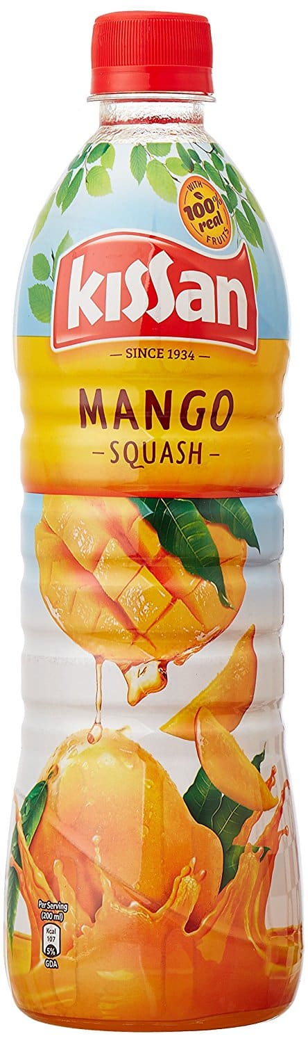 Kissan Mango Squash Rich with the pulp of real mangoes, treat yourself to a sweet drink that will leave you at a loss for words.