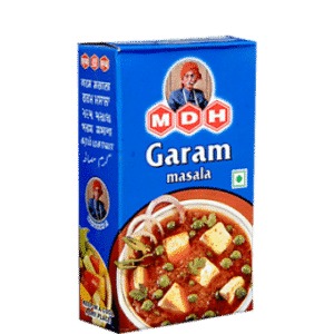 MDH Garam Masala offers ready to use ground spices. MDH spices are neatly and hygenically packed. Garam Masala is a perfect blend of all main spices.