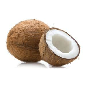 The unique combination of fatty acids in Coconut have profound positive effects on health. This includes fat loss, better brain function.