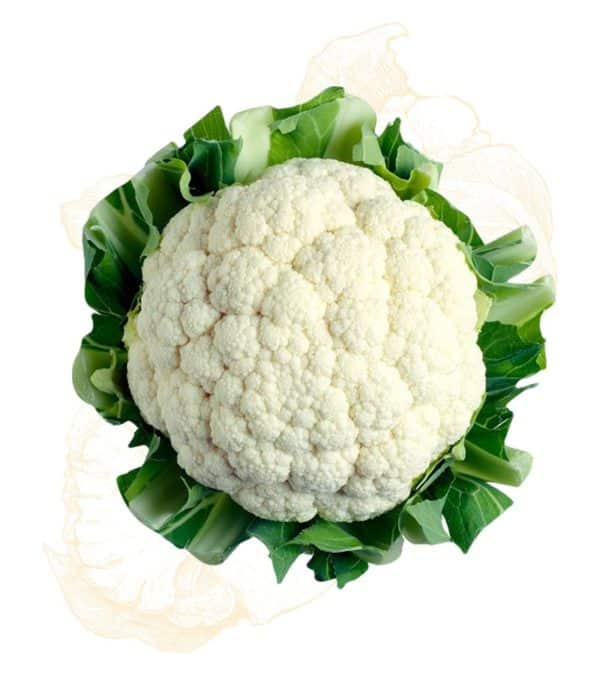 Cauliflower is an extremely healthy vegetable that's a significant source of nutrients which may reduce the risk of several diseases.