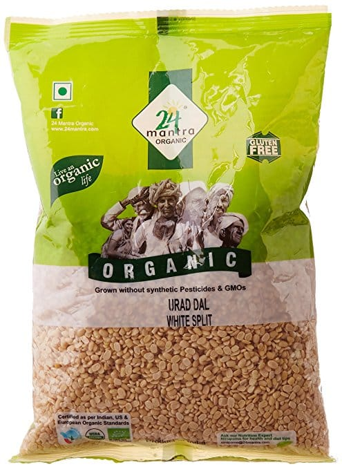 24 Mantra Organic Urad Dal White Split 500GM