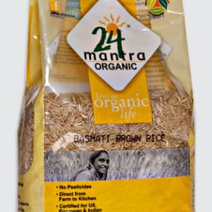 24 Mantra Organic Brown Basmati Rice