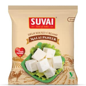 Suravi fresh paneer helps Pamper yourself with these deliciously creamy soft Fresh Paneer.Made with top quality milk which is excellent source of calcium.