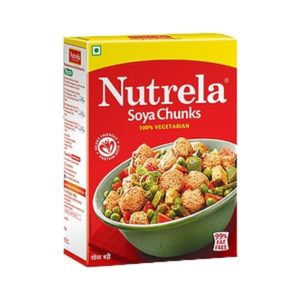 Nutrela Soya Chunks is one of the most reliable brands to offer 100 % vegetarian Soya foods in the country including Soya Chunks.