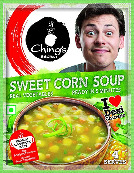 Chings Sweet Corn Soup is aVegetarianproduct.The micronutrients (Vitamins/Minerals) play an important role by ensuring proper functioning of cells.