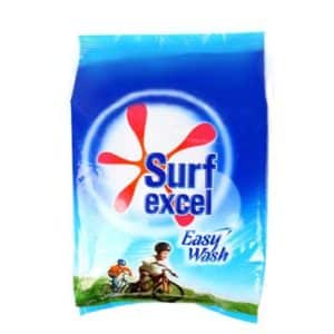 Surf excel easy wash has the power of 10 hands that removes tough stains easily. It's a super fine powder,dissolves easily and removes tough stains fast.