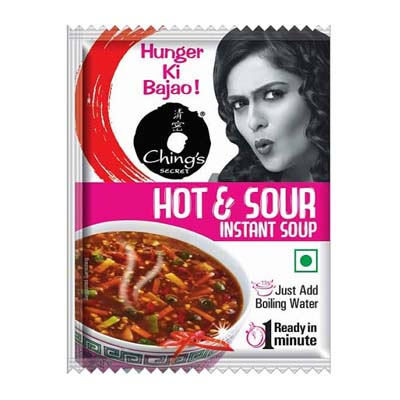 Chings hot & sour soup is aVegetarianproduct.The micronutrients (Vitamins/Minerals) play an important role by ensuring proper functioning of cells