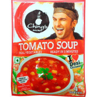 Chings Tomato Soup is aVegetarianproduct.The micronutrients (Vitamins/Minerals) play an important role by ensuring proper functioning of cells.